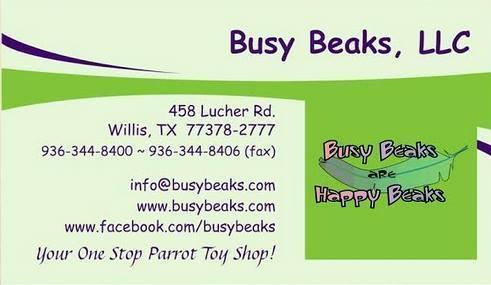Busy Beaks are Happy Beaks